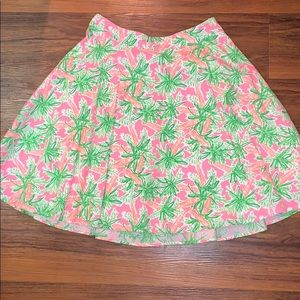 Lilly Pulitzer Easter Nibbles Skirt EUC 8